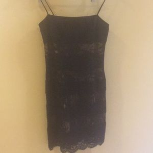 Black lace dress by LAUNDRY